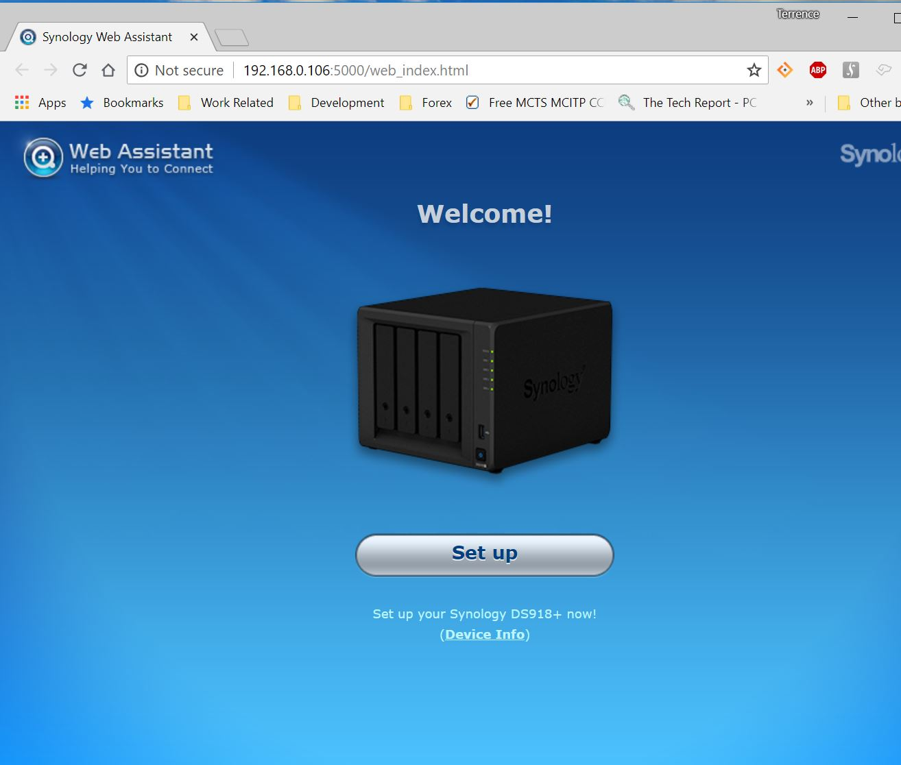 Synology Project Part 3: Setting Up the NAS – TDSheridan Lab