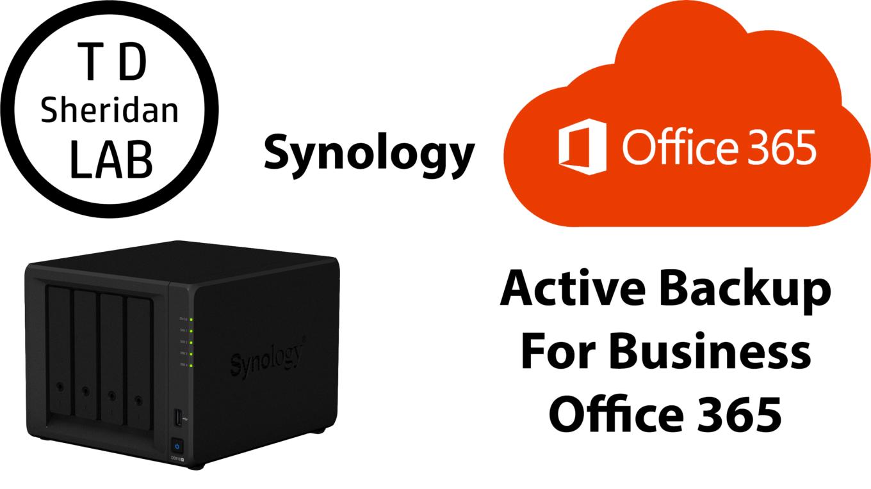 Use a Synology NAS to Backup Office 365 – TDSheridan Lab